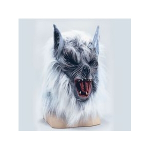 Werewolf Mask - Grey
