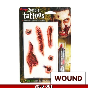 Tattoo Kit - Wounds