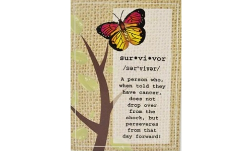 """Survivor"" Greeting Card"