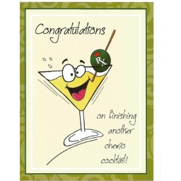 Congratulations On Finishing Another Chemo Cocktail Greeti..
