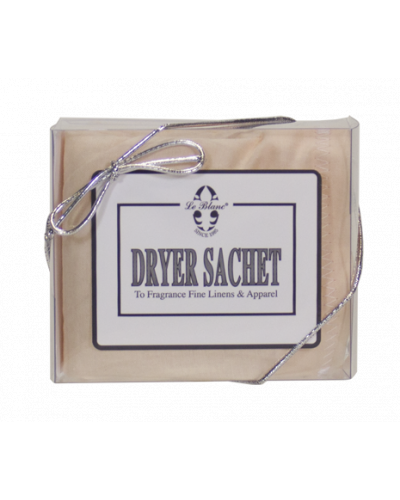 Dryer Sachets White Flowers Single