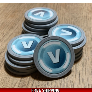 Real Life V-Bucks Fan art
