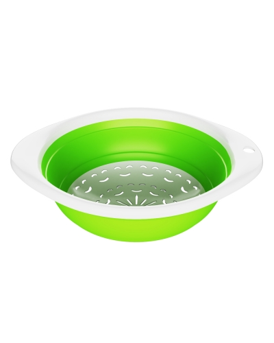 Collapsible Colander and Strainer | BPA Free foldable Strainer | Colapseable Collander | Colander Vegetable Drainer| Fruit Washer | Pasta Colander