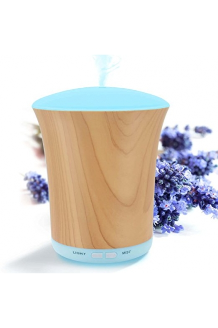 Essential Oil Diffuser Woodgrain, 200ml Aromatherapy Diffusers for Essential O..