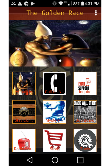 Golden Race Mobile App