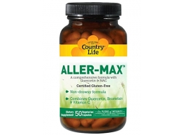 Country Life Aller-Max, Vegetarian Capsules, 50-Count