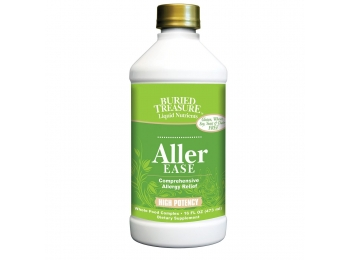 Buried Treasure Aller-Ease Herbal Allergy Relief High Potency Liquid Formula