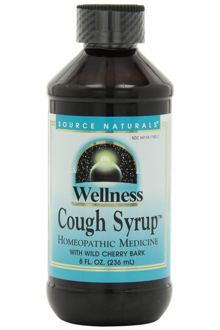 Source Naturals Wellness Cough Syrup with Wild Cherry Bark