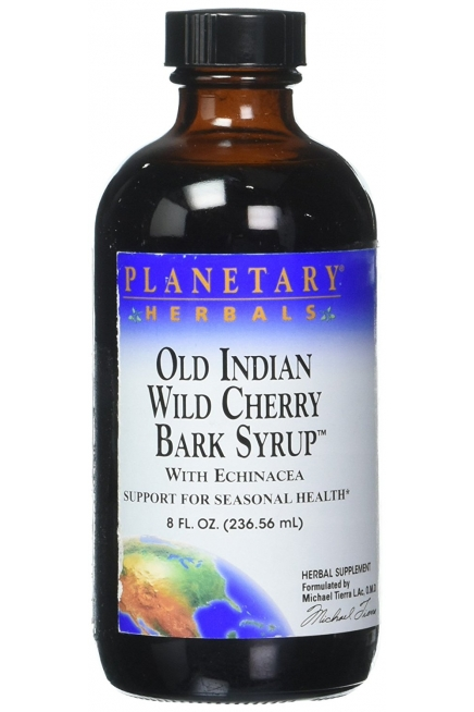 Planetary Herbals Old Indian Wild Cherry Bark Syrup 8 fl oz