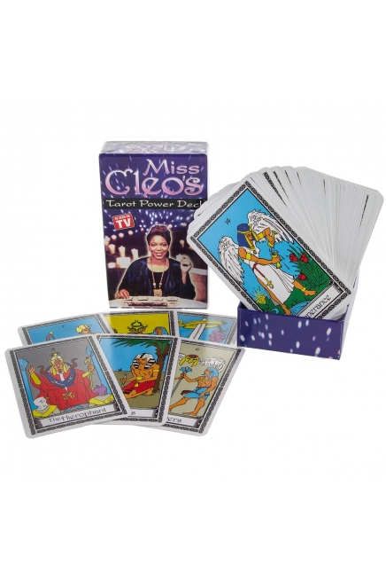 Miss Cleo's Tarot Card Power Deck
