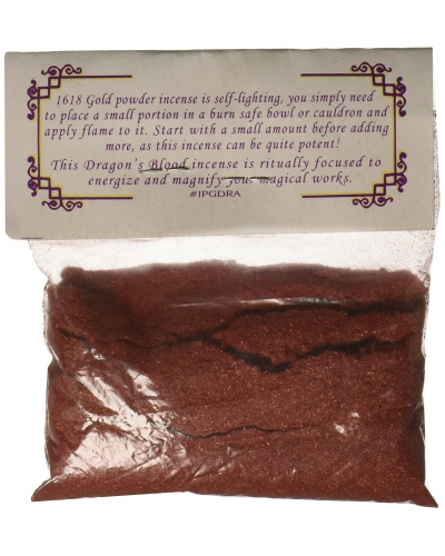 1 X Dragons Blood Powder Incense