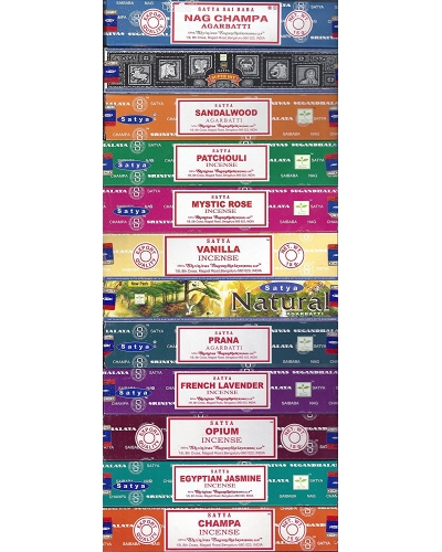 Set of 12 Essential In Incense