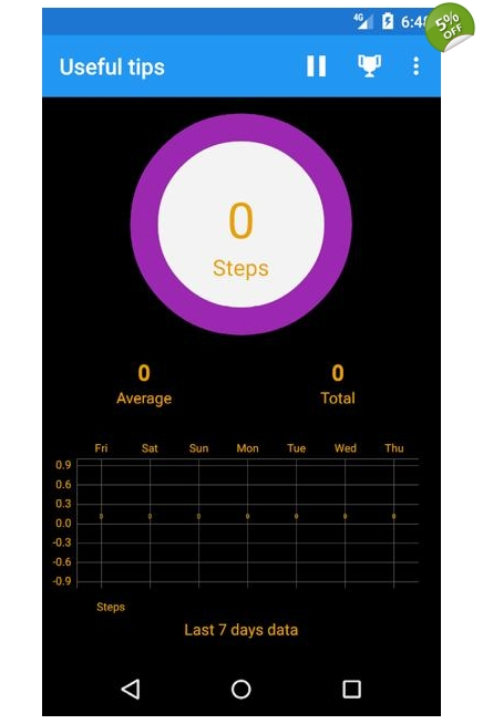 Fitness Tracker App Android Only