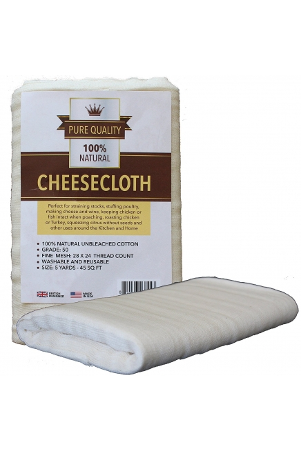 Cheesecloth Unbleached Natural Cotton