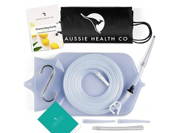 Non-Toxic Silicone Enema Bag Kit