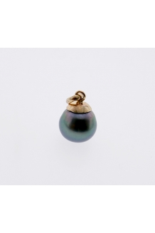 10MM PEARL PENDANT 9KY GOLD ..