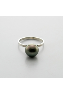 PEARL RING B S/S 925