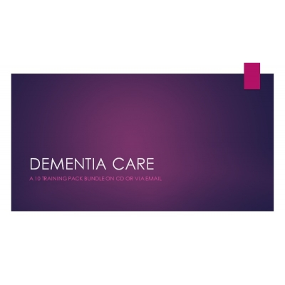 Dementia Care - 10 Pack..