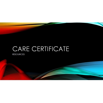 Care Certificate Resources
