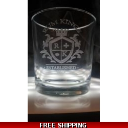 Individual spirit glass