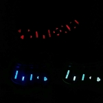 C5 Chevy Corvette window switch Kit come with LED modules