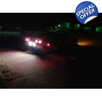 C5 Chevy Corvette backup high power Cree led lights 80W
