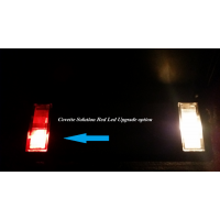 C5 C6 Chevy Corvette 1997-2013 Sun Visor led Lighting Brig..
