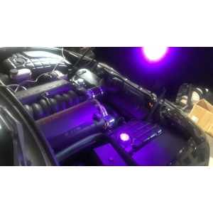 C5 C6 Corvette Underhood engine compartment led upgrade.