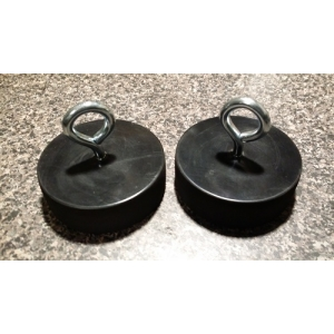 Chevy Corvette Lift Puck Lift Pads Jack Pad SET OF 2 BLACK