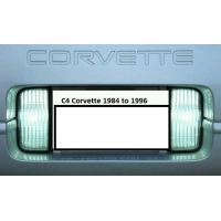 C4 Corvette 1984-1996 Reverse LED Light Replacement Bulbs