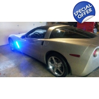 C6 Chevy Corvette Side Cove led Lights Kit Stand..