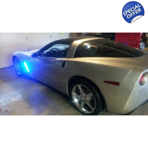 C6 Chevy Corvette Side Cove led Lights Kit Stand out from ..