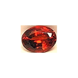 Garnet-Spessartite faceted 7..