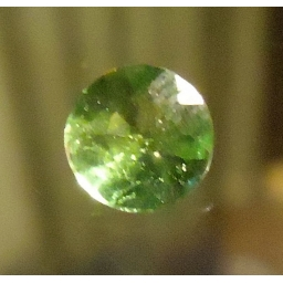 Green Tourmaline faceted  1...
