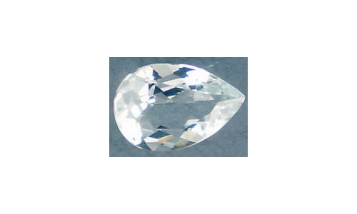 Aquamarine loose faceted 12x8x6mm 2.5 cts 1000B