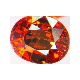Garnet-Spessartite faceted  ..