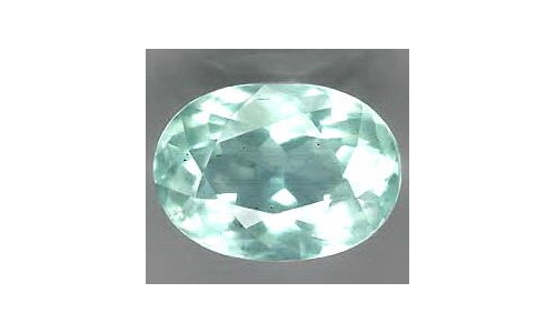 Aquamarine faceted Loose 1 cts 7x5x4 mm natural 134D