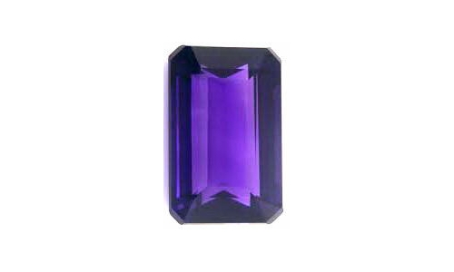 4.5 cts 12x10x7 MM African Amethyst loose faceted 1122D