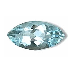 Aquamarine loose Facete..