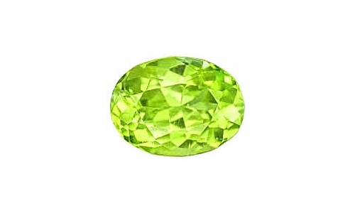 2 cts 10x8x4 MM Peridote loose faceted 152D