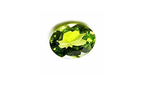 2 cts 10x8x5 MM Peridote loose faceted 1041D