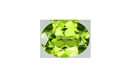1 ct 7x5x4 MM Peridote loose faceted 877D