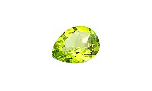 Peridot loose faceted 1 ct 7x5x4 MM  1422C