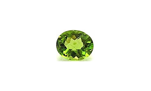 1 cts 8x6x4 MM Peridote loose faceted 1686D