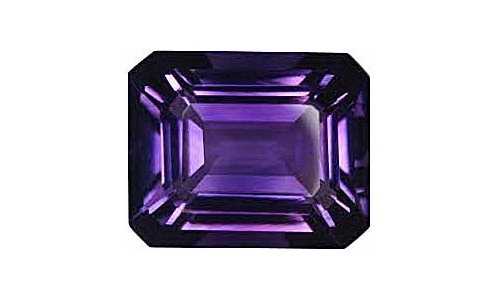 1.5 cts 9x7x5 MM African Amethyst loose faceted 376D