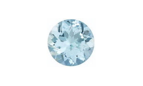 Natural Aquamarine Loose 1 ct 6x4 MM 1443C