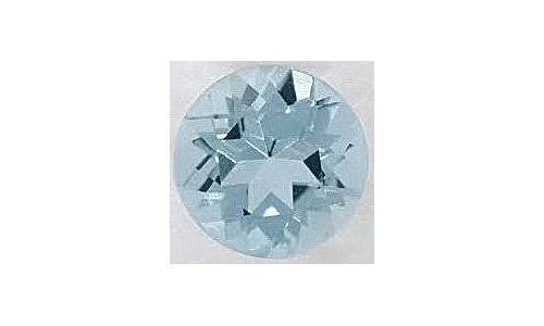 Natural Aquamarine Loose 1.5 cts 7x5 MM 1261C