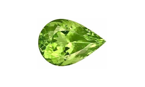 1 ct 10x7x5 mm Peridot loose faceted 763D