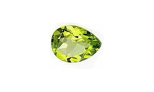 1 ct 10x7x5 mm Peridot loose faceted cut 1417C