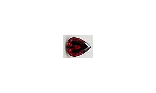 Rubellite Tourmaline Loose Faceted 2 cts 11x7x5mm 1630C